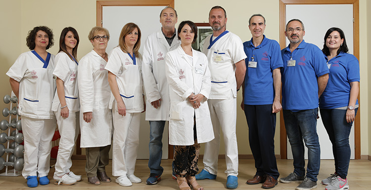 Operatori del presidio ambulatoriale di San Paolo Civitate