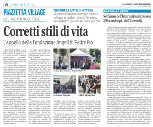Piazzetta Village Foggia