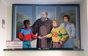 FOTO 6 (opera realizzata in passato dal maestro custodita presso il nostro Presidio di Rodi)