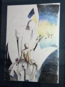 FOTO 7 (opera realizzata in passato dal maestro custodita presso il nostro Presidio di Rodi)
