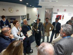 Dr.ssa Filoni inizia la presentazione del centro