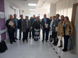 """03-18 Delegazione Governo Argentino in visita a """"Gli Angeli"""""""