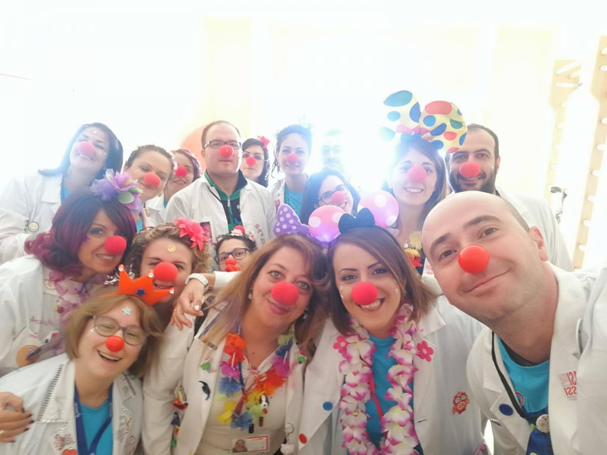 """clown dottori del """"Il Cuore di Foggia"""""""